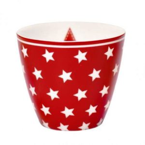latte cup Star Red GG