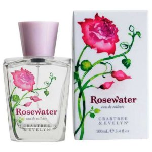 rosewater eau de toilette crabtree and evelyn