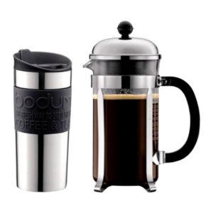 chambord french press travel mug set bodum inhala