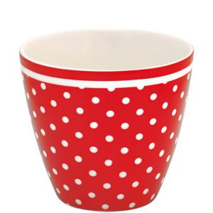 latte cup spot red greengate inhala barcelona granollers