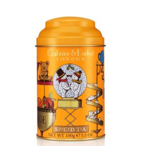 spiced tea tin crabtree and evelyn inhala granollers barcelona