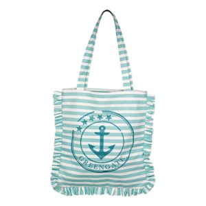 tote bag canvas ditte aqua greengate inhala granollers
