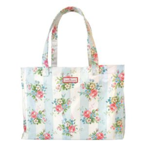 Tote bag Marie pale blue large greengate inhala granollers