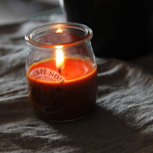 coffee candle inhala granollers