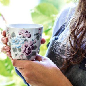 taza latte cup Maude white de Greengate Inhala granollers barcelona