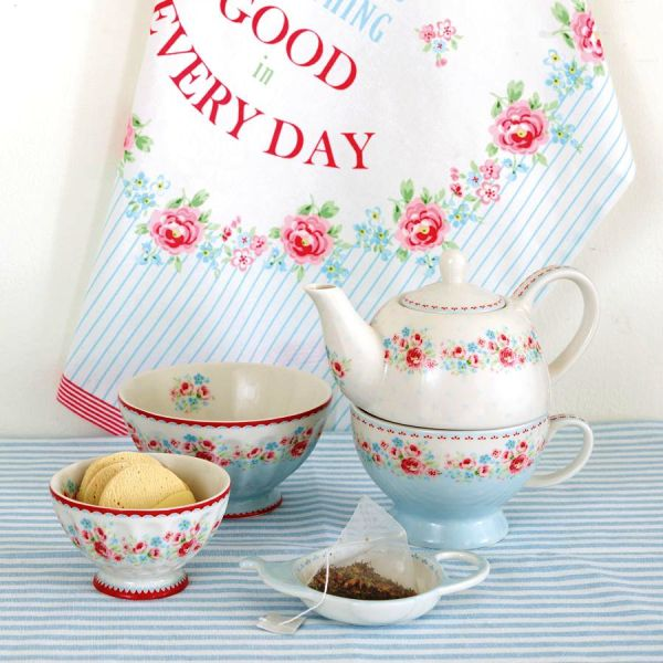 Conjunt teatime Tess white Edició limitada de GreenGate