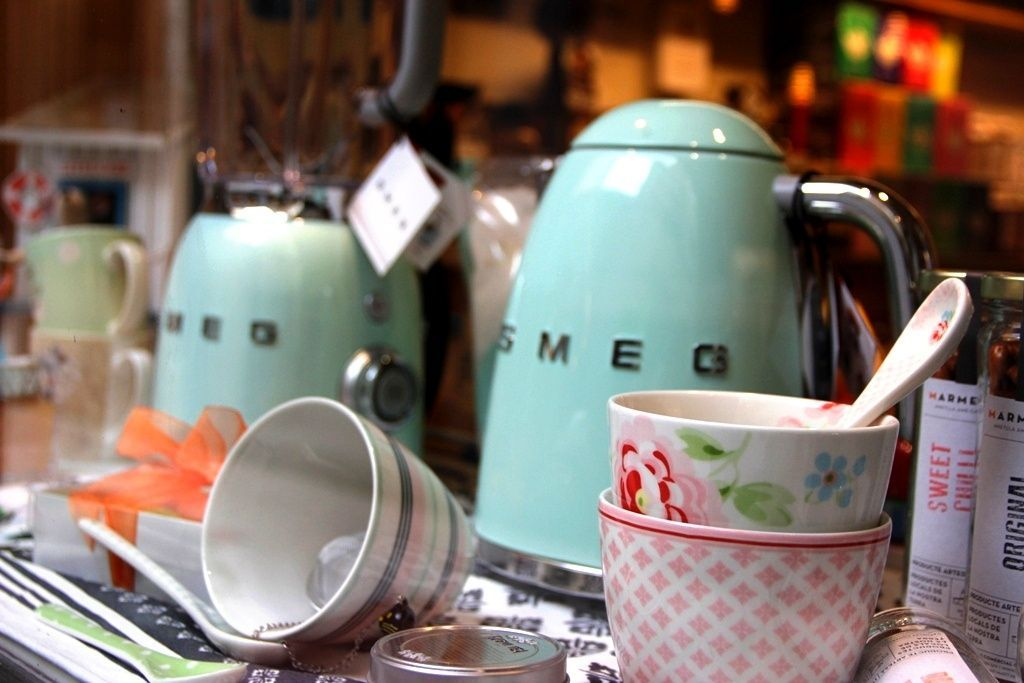 inhala coffee tea granollers barcelona smeg greengate