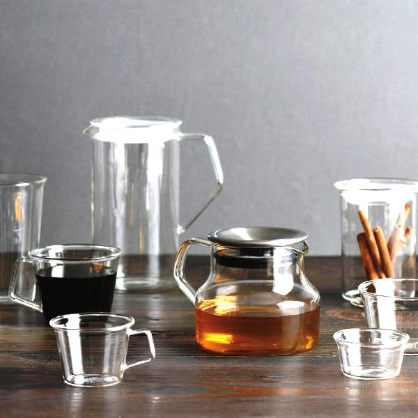 tetera de vidre Kinto, firma japonesa de gran prestigi a Inhala.