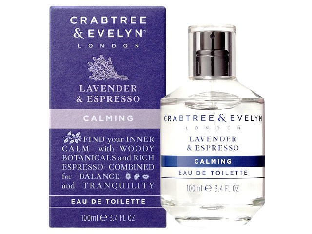 eau de toilette lavender and espresso crabtree evelyn inhala coffee granollers