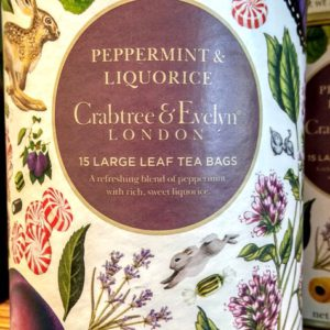 peppermint liquorice menta regaliz tea crabtree evelyn inhala cafes tes barcelona
