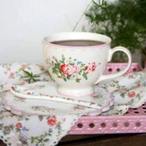 Tassa Teacup Petricia Pale Pink GreenGate Inhala café Barcelona